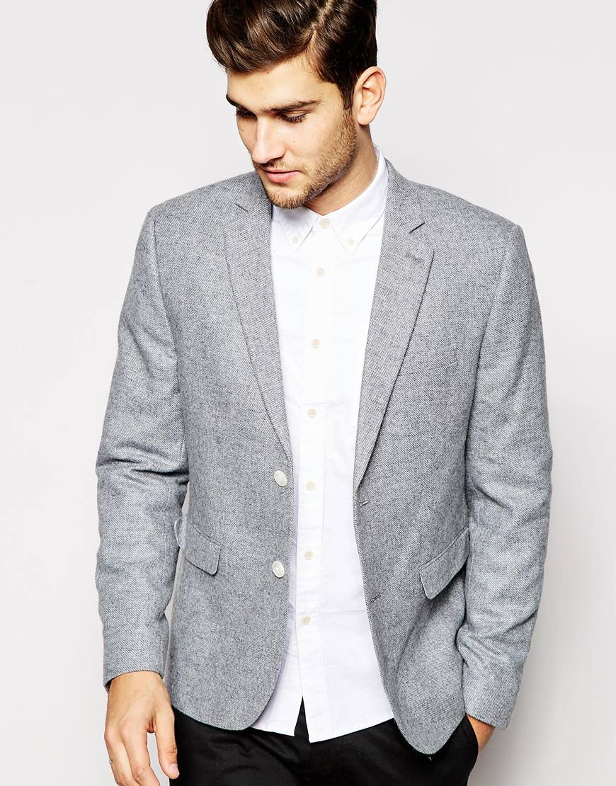 ASOS New Look Blazer with Wool Blend    $99.00