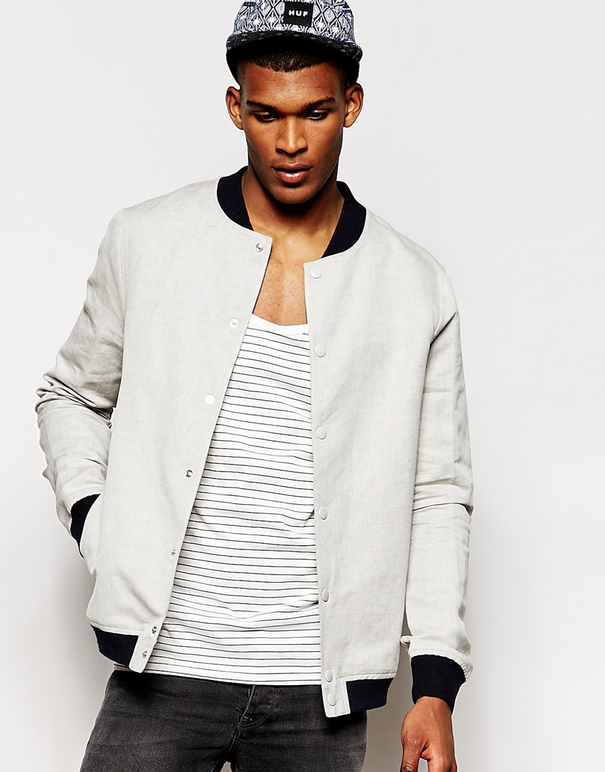 River Island Woven Bomber Jacket  $109.00