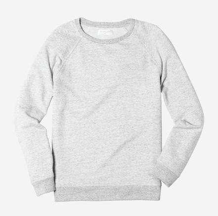 Everlane, The Crew Sweatshirt  $45