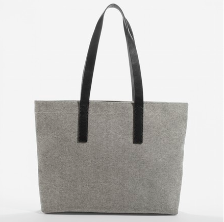 Everlane, The Twill Zip Tote $40