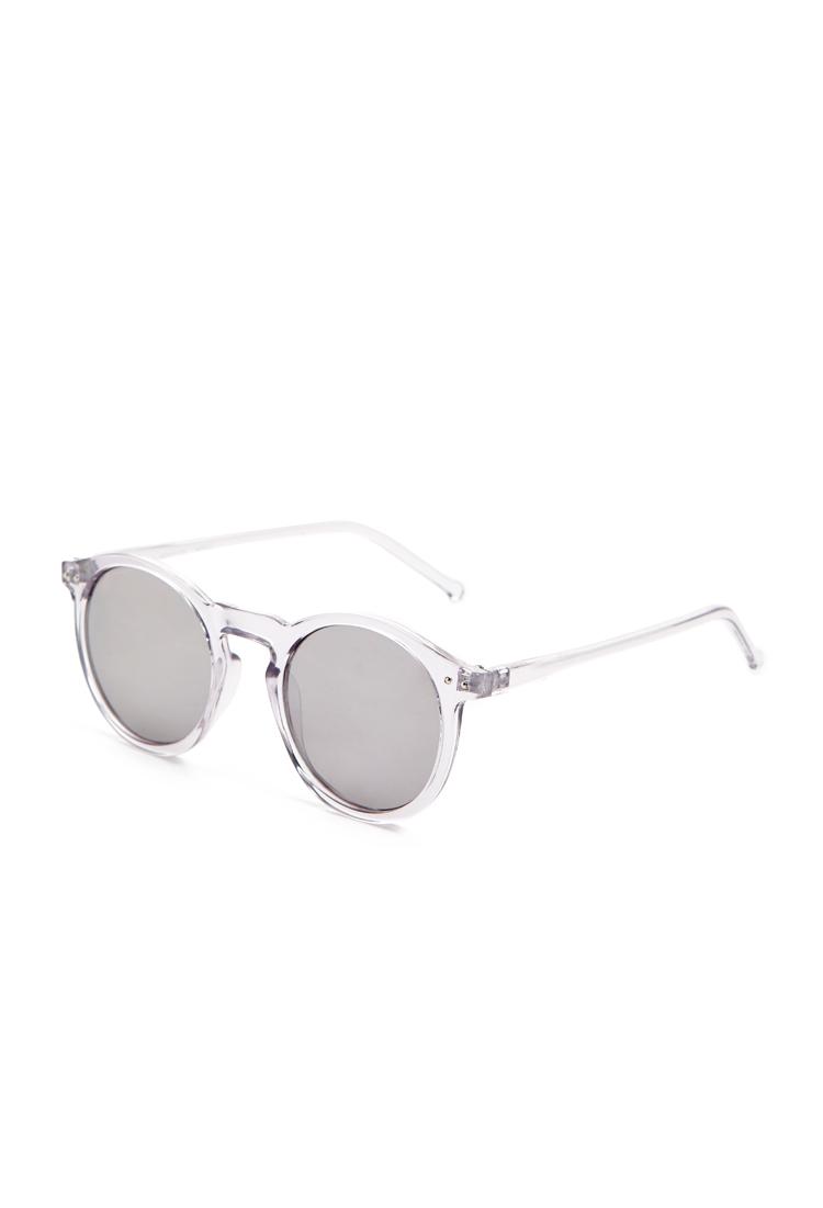 Forever 21Mirrored Round Sunglasses  $5.90