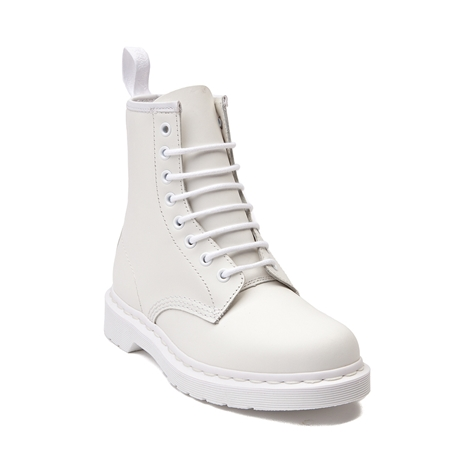 Dr. Martens 1460 8-Eye Boot White Mono, $124