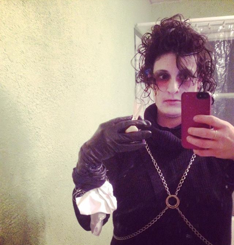 Edward Scissorhands Queer Halloween Costume