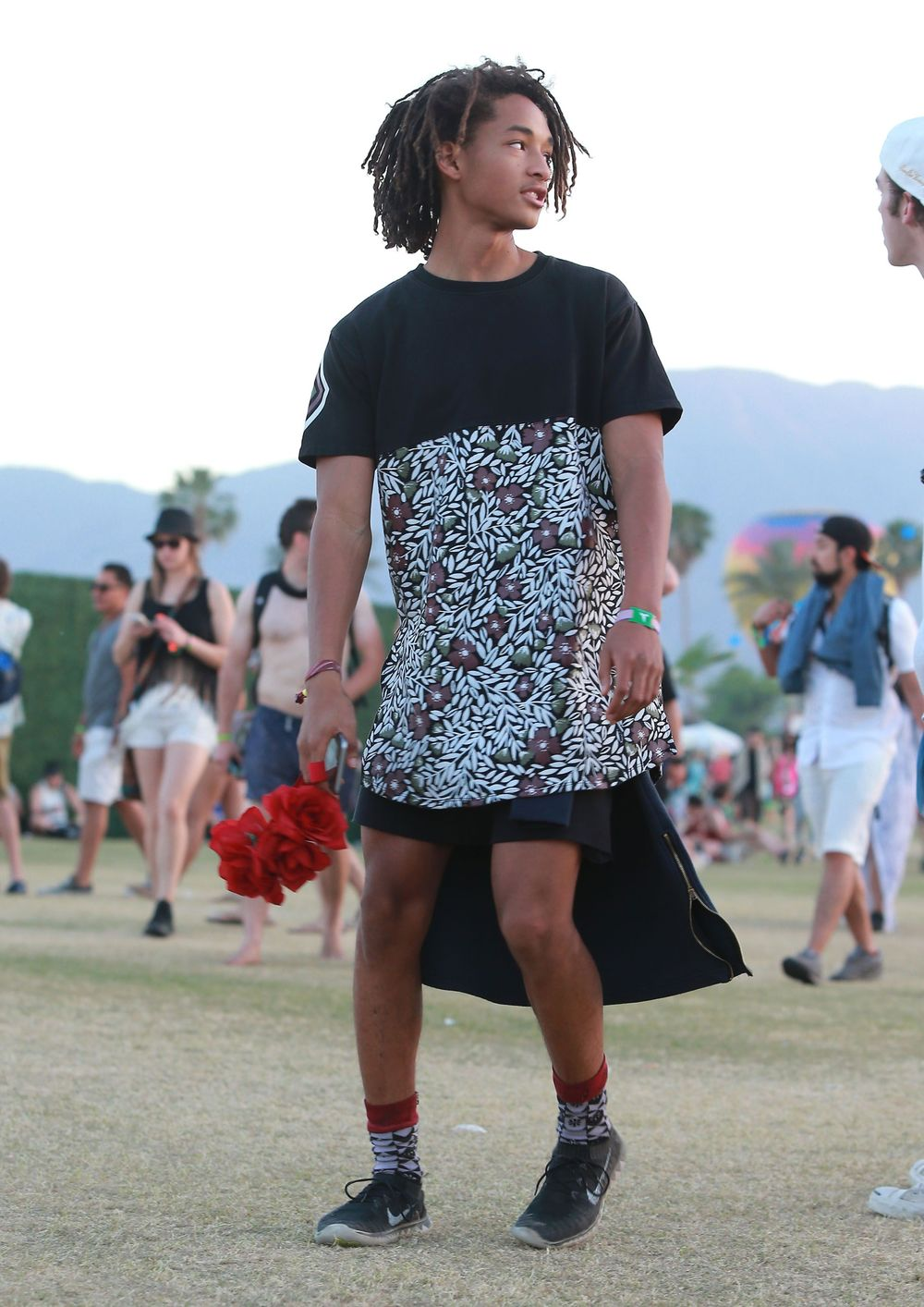 Smith at Coachella, 2015