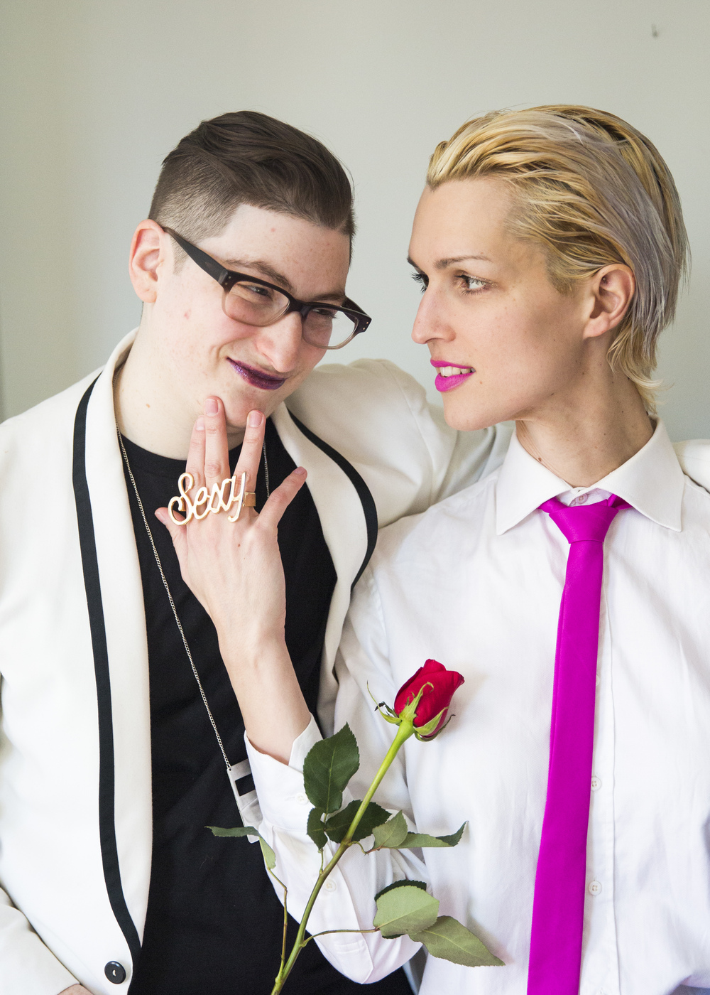 Sonny Oram and Lexi, Valentines Style, Sexy Ring