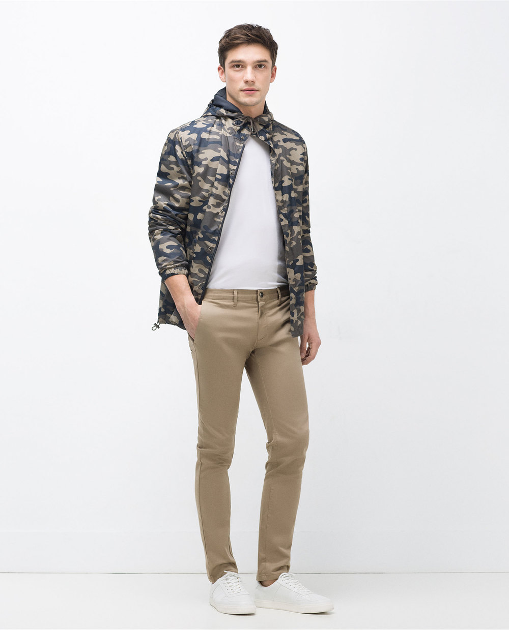 Zara Chinos, $39.90