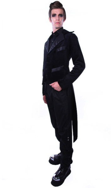 Gentleman Assassin Tailcoat, $205.00 at  www.galleryserpentine.com