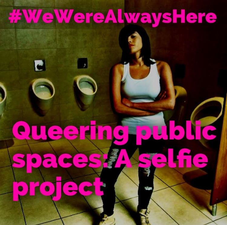 Check out Qwear's Queering Public Spaces selfie project by clicking on the image.