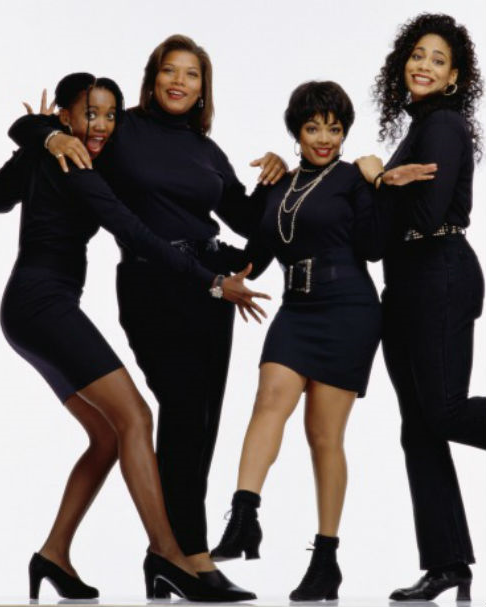 Living Single cast in all black