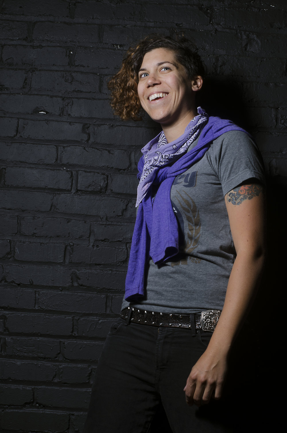 Kristen Ford, queer one-woman looping band. Photo by Jaypix for Qwear