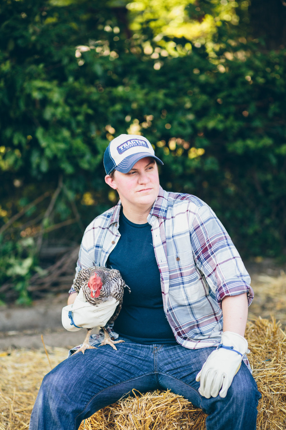 Photography by  Cassandra Zetta  /  How to Wear: Lesbian Farmer Style / Rush Limbaugh's Worst Nightmare