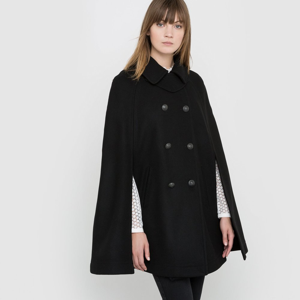 R studio Cape Coat / $ 117.39