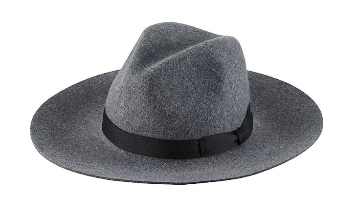 UNIQLO Women's Wool Wide Brim Fedora Hat - $9.90