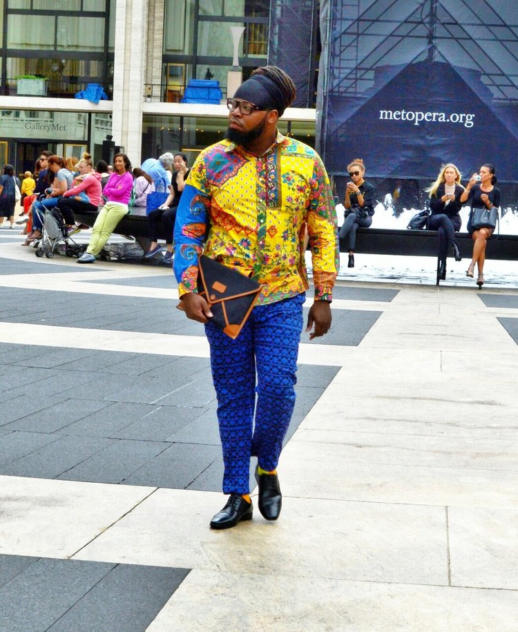 "William ""Beave"" Brooks via  9 Plus Size Cuties Share Tips For Androgynous Style"