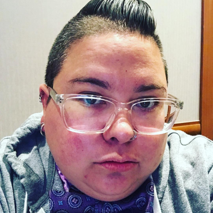 Robyn Henderson-Espinoza: A nomadic activist theologian & nonbinary Trans*queer Dapper Latinx invested in the politics of radical difference & the liberation of our people. www.iRobyn.com