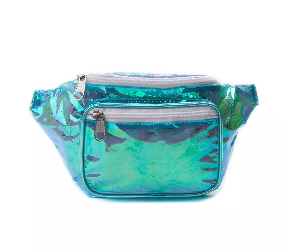 Dickies Hip Sack Fanny Pack Blue Iridescent