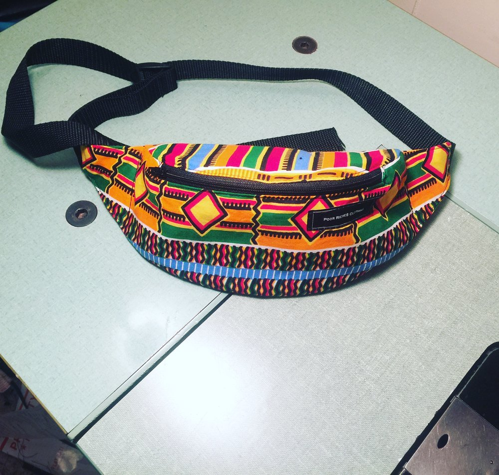 Multi Cultured fanny pack