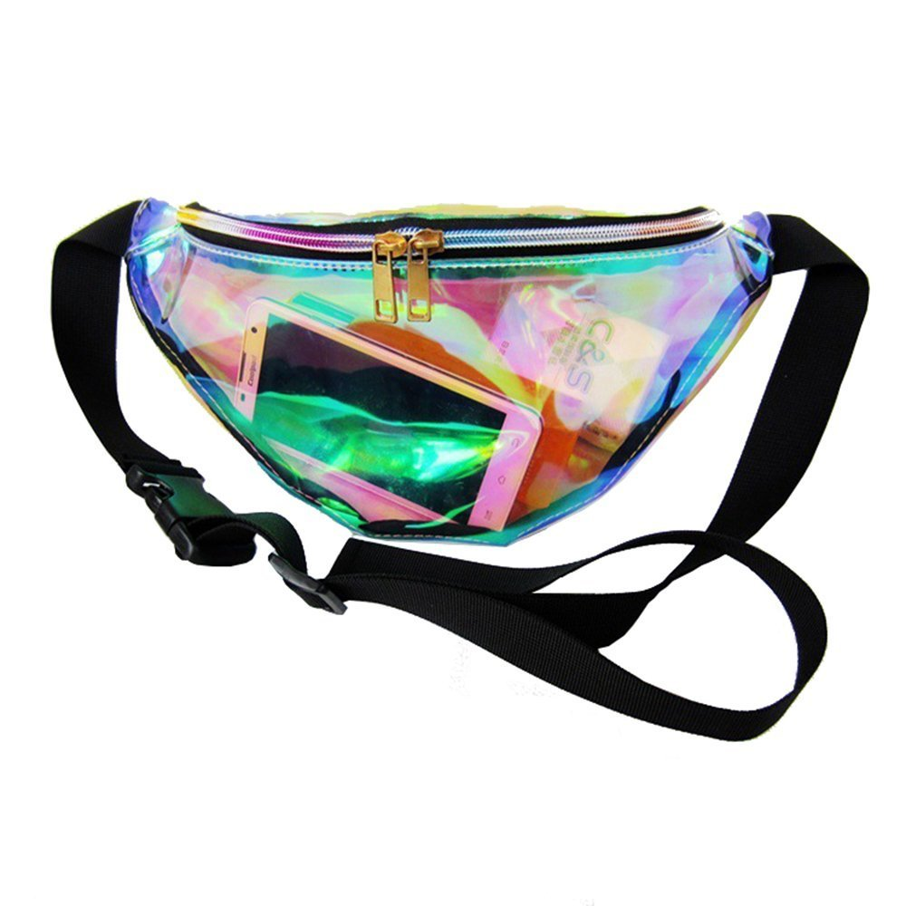 Transparent Waterproof Waist Pack Outdoor Bum Bag Travel Beach Organizer Storage Bag