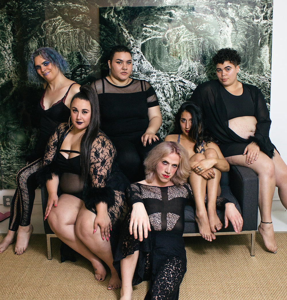 9. Bluestockings Boutique - Via Queer/Trans Lingerie Photoshoot with Bluestockings & Qwear