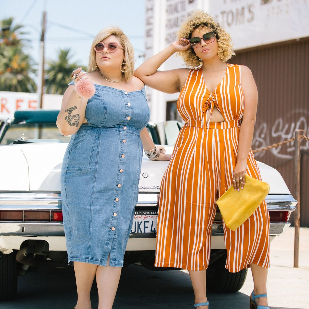 Nicolette Mason and GabiFresh Launch Plus Size Brand! - July 25, 2017