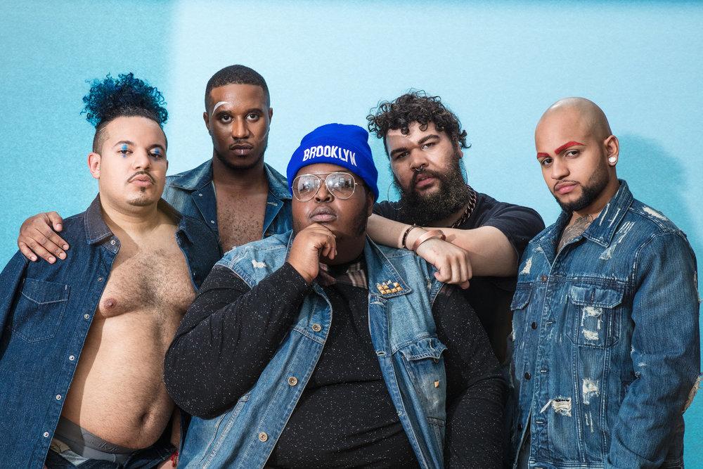 From left: Chris, Lamar, Tarik Carroll, Marquis Neal, Jairo /Source: Tarik Carroll/The EveryMan Project