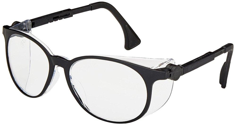 Uvex S4000 Flashback Safety Eyewear, Black Frame, Clear Ultra-Dura Hardcoat Lens,$7.99