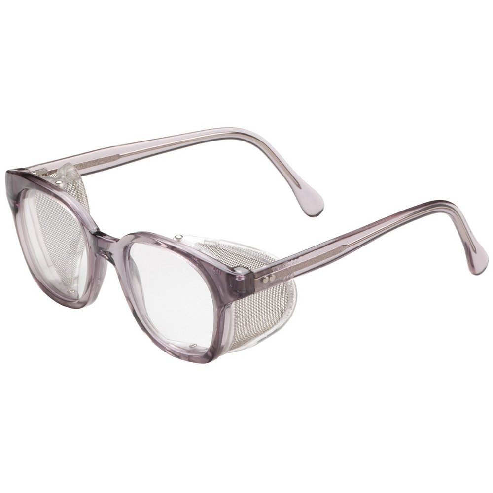 Bouton 5900 Traditional Safety Glasses - Smoke Frame - Clear Anti-fog Lens,$8.69