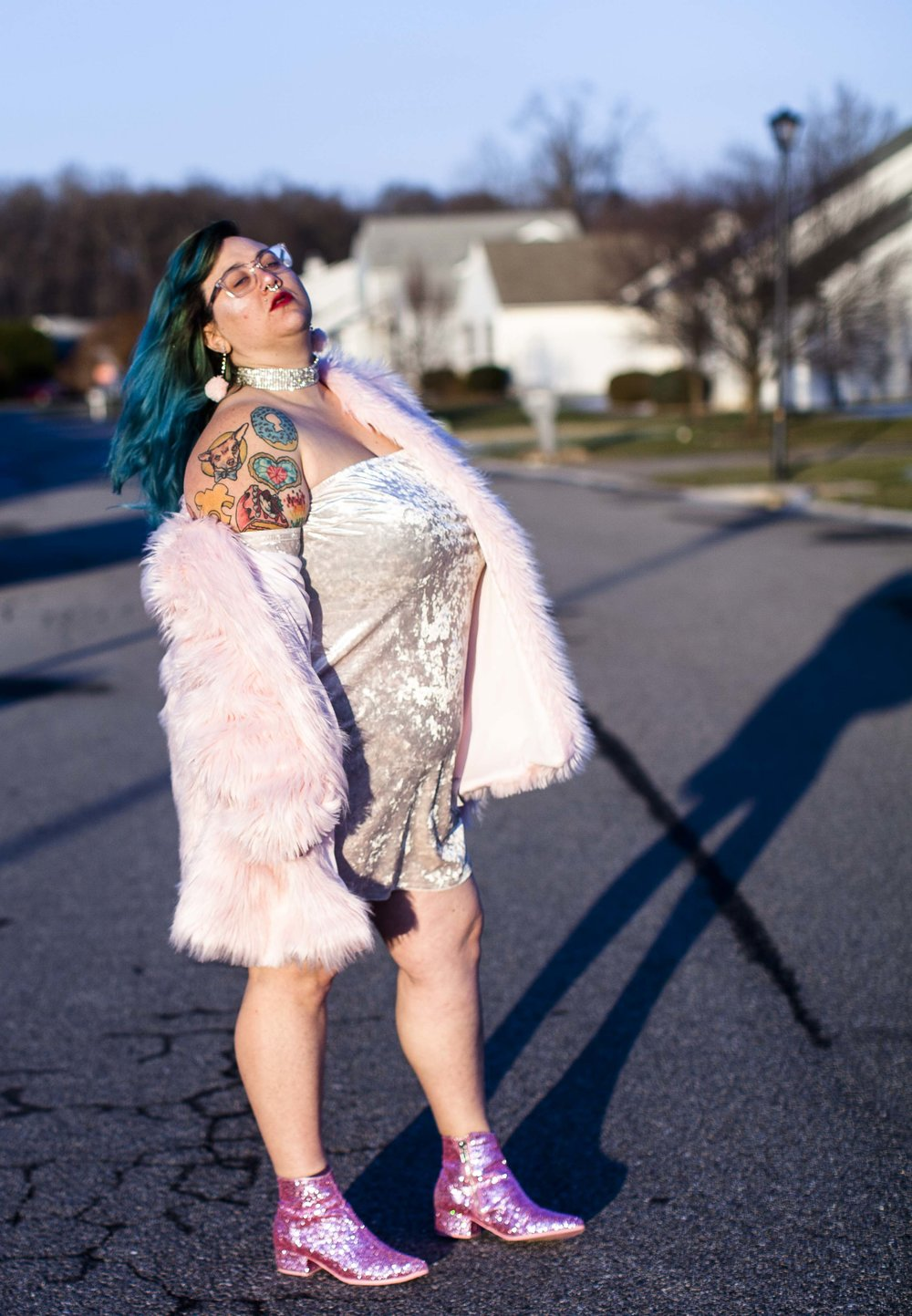 Chelsea Memmolo Plus Size Queer Fashion