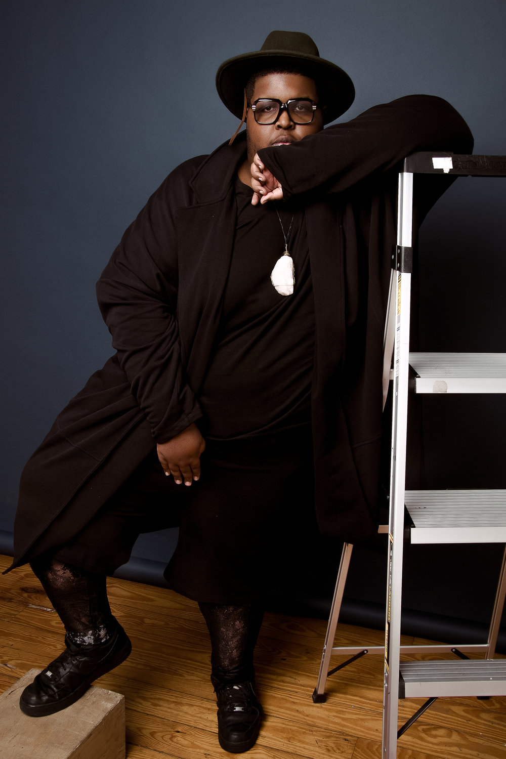 Tarik Carroll Queer Plus Size Fashion
