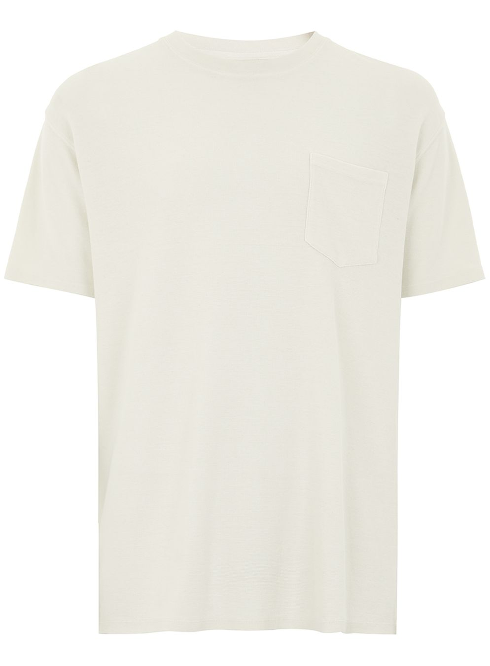 LTD Ecru Textured T-Shirt