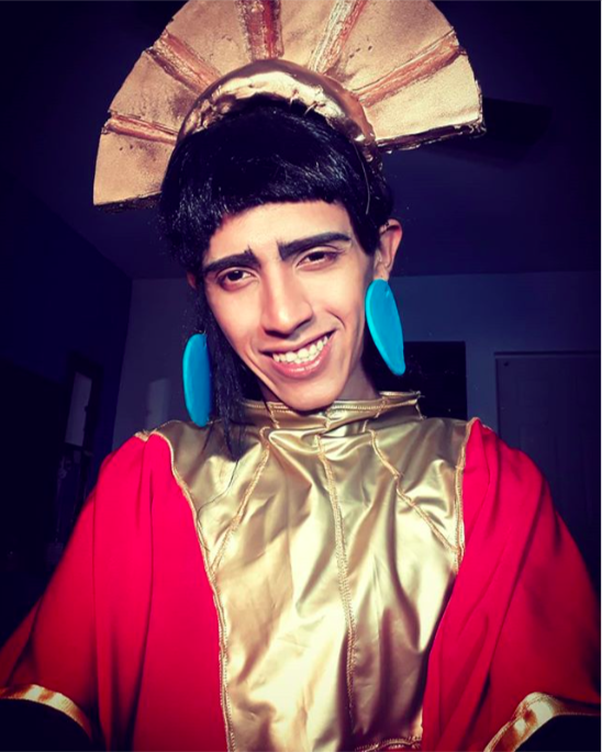Kuzco from The Emperor's New Groove
