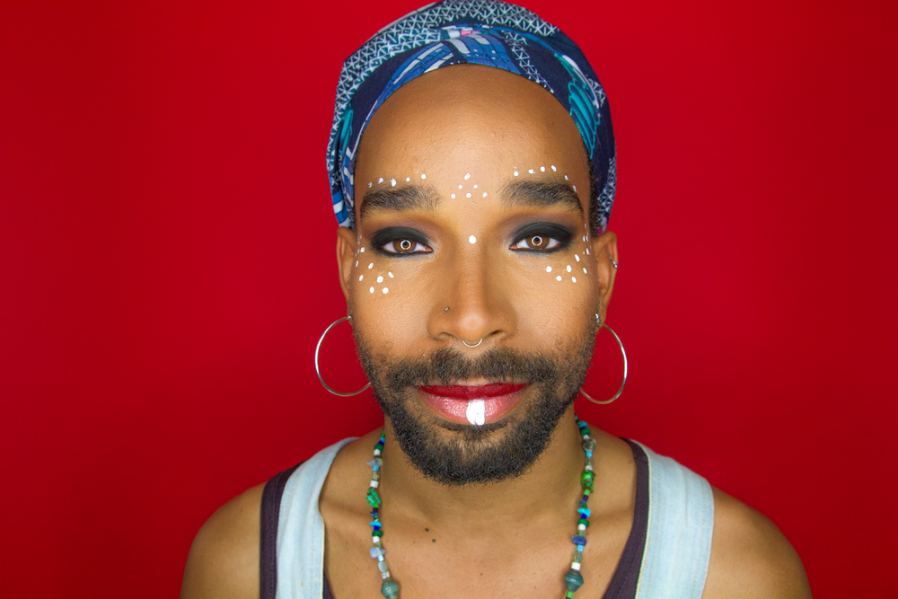 Androgynous Tribal Make Up Tutorial with Mojo Disco & Gerard Miller