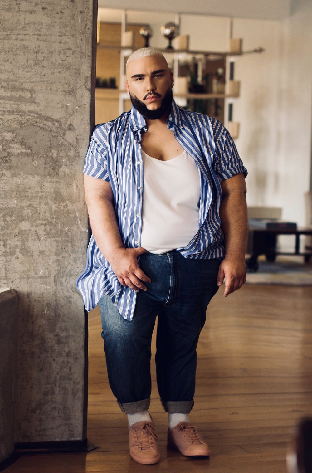 a5560bc073440 Plus size Big and tall denim could be tricky to find for people of size  especially ones that fit us great. My favorite have been Levi s.