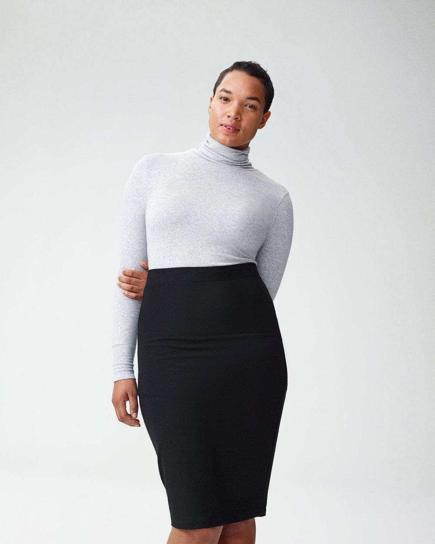 Universal Standard Danube Heavyweight Jersey Skirt