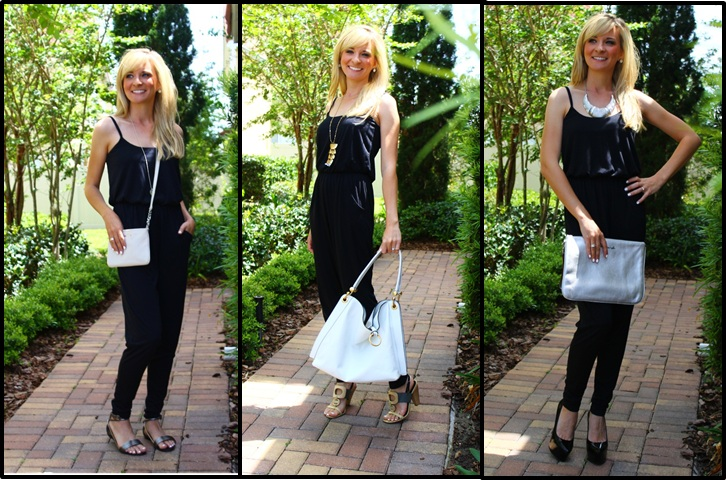 Casual, Out to Dinner or Date Night, the jumpsuit is one of my most versatile pieces!