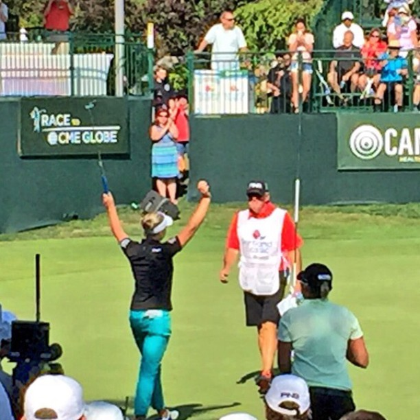17-year old Brooke Henderson wins for the first time on the LPGA Tour at @lpgaportlandclassic. Wins by 8-strokes at 21 under par. #brookehenderson #lpga #lpganews #portlandclassic #golf #golfnews