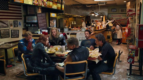 The greatest shawarma scene in Hollywood history
