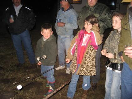 RB Rodeo Cow Pie kids.JPG