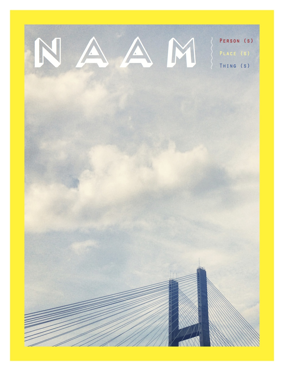 Cover of NAAM Magazine. Photo by Perri Rothenberg in Savannah, GA.