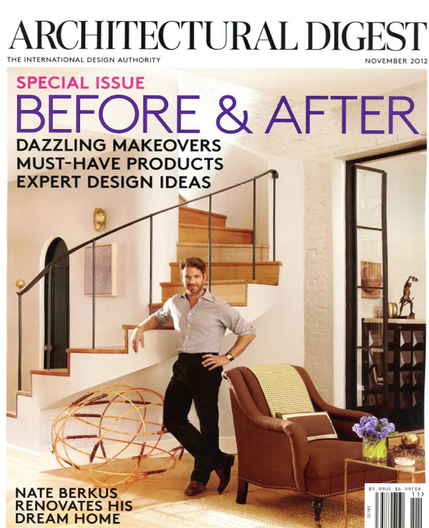 Cafe Royal - Architectural Digest - November 2012 - Cover.jpg