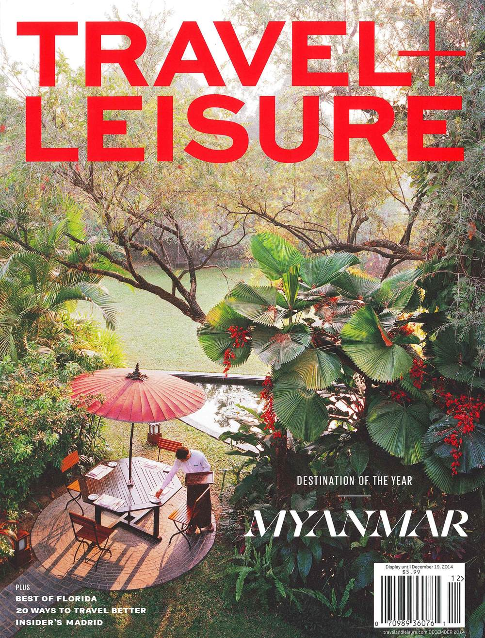 TRAVEL + LEISURE December 2014