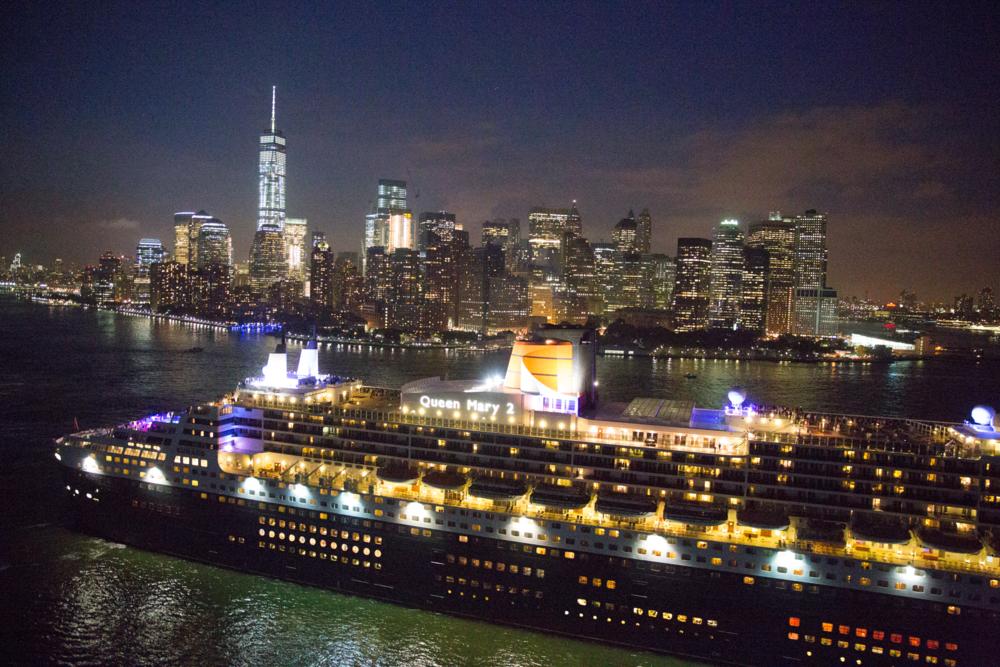Cunard's 17th anniversary