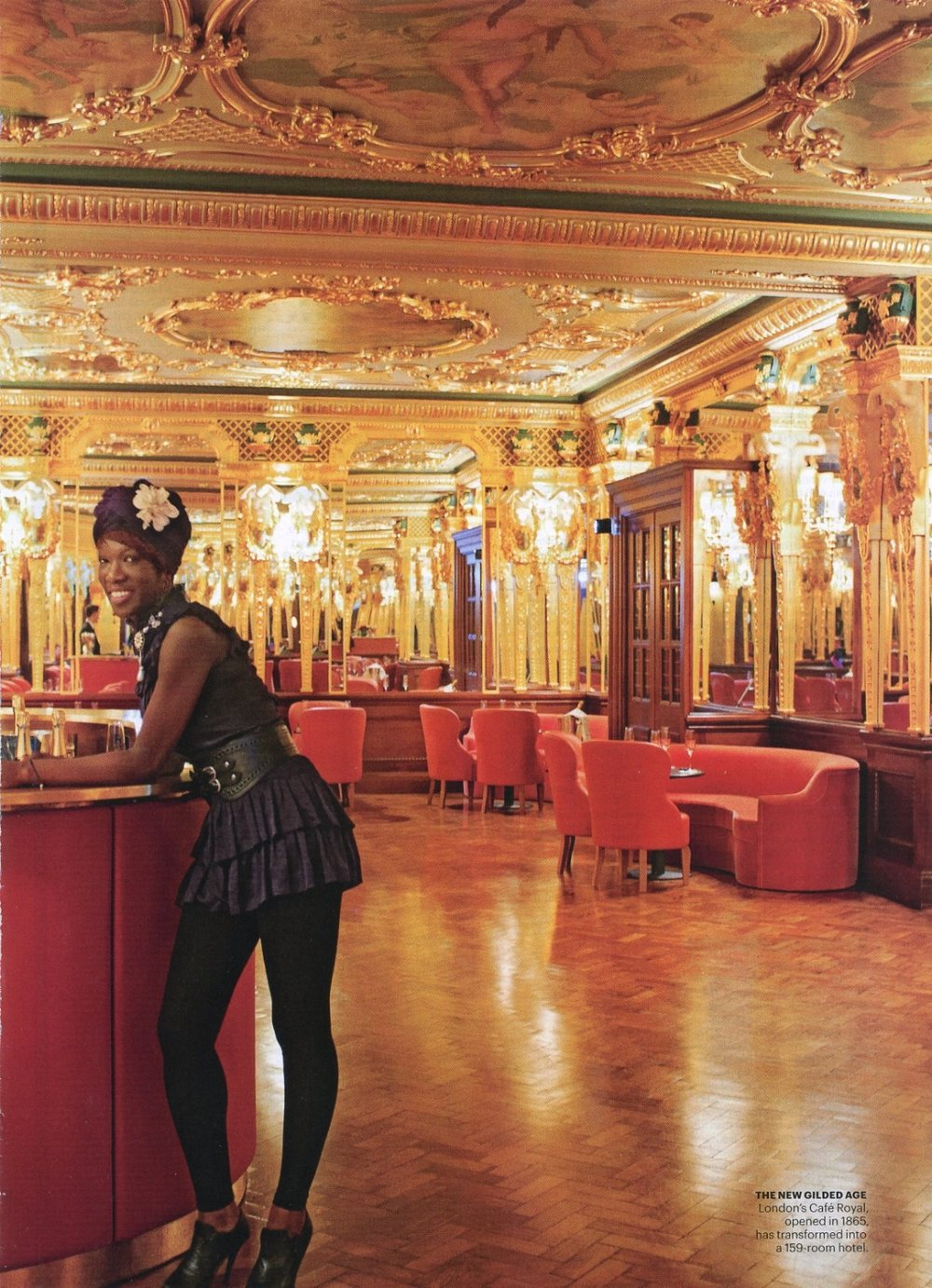 Hotel Cafe Royal lobby