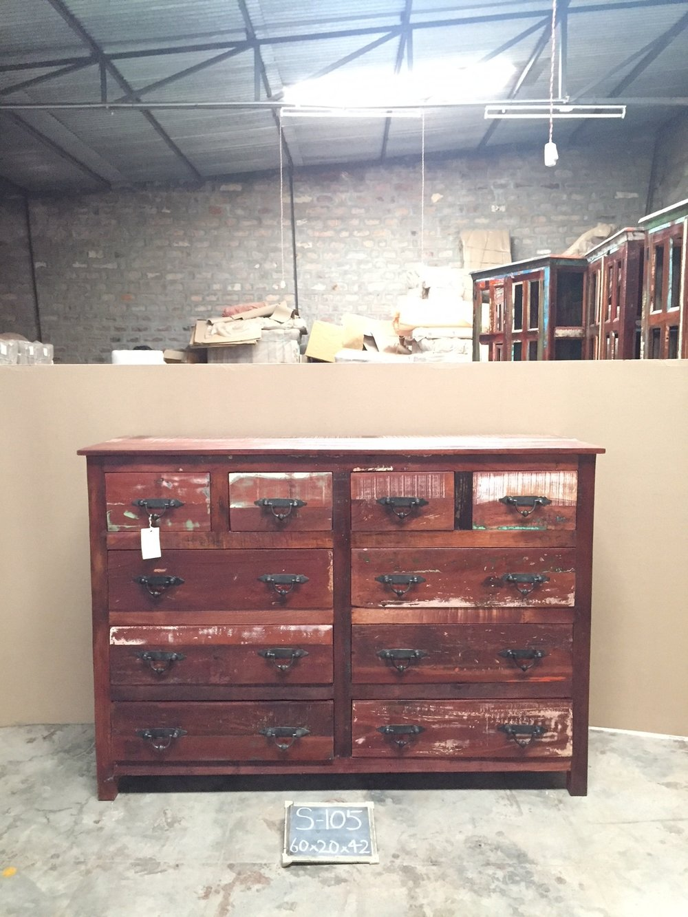 Indian Reclaimed Wood Dresser $1895.00.