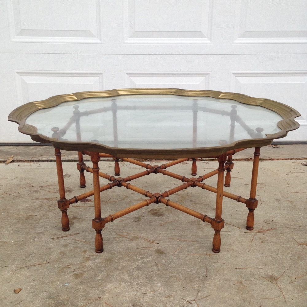 The latest... stunning coffee table.