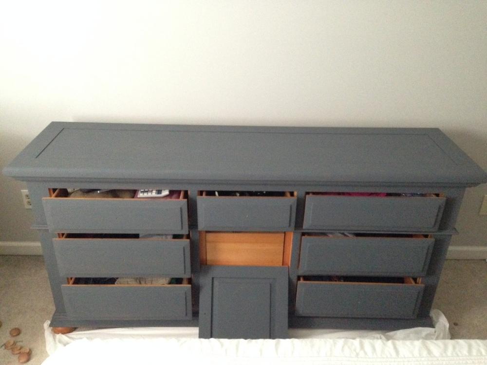 Dresser in progress...