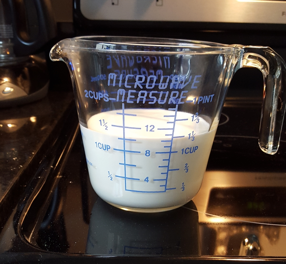 """The original recipe calls for """"sweet milk""""... I interpret that to mean heavy cream! Get your fat pants."""