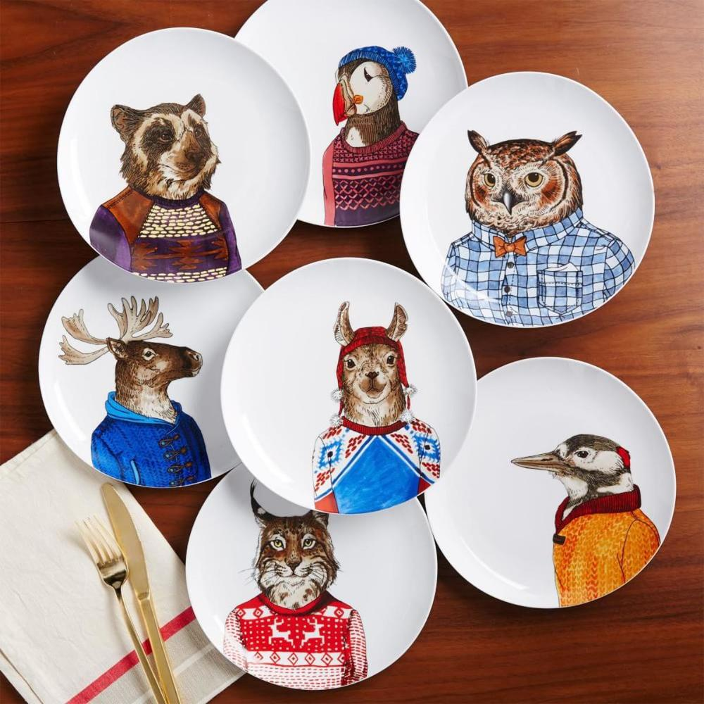 Aren't these animal plates sweet?