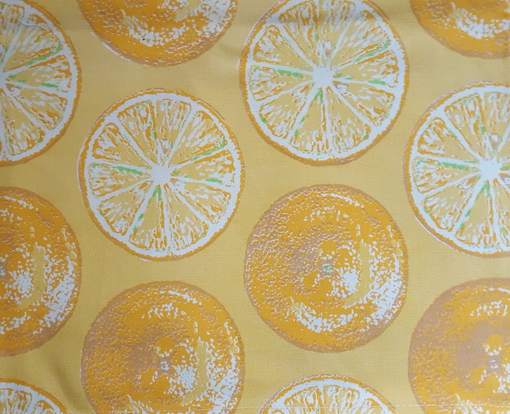Sweet lemon placemats.