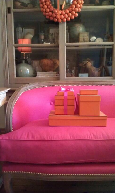 source... and you know where to find a pink settee?! Yep. I got you.